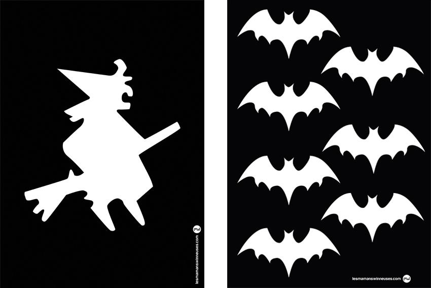 Diy d halloween la sorci re sur son balai les mamans winneuses - Image de sorciere a imprimer ...