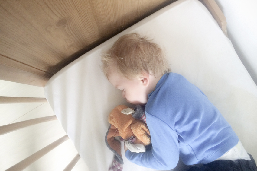 Illustration ILS SONT BEAUX NOS ENFANTS…  surtout quand ils dorment !