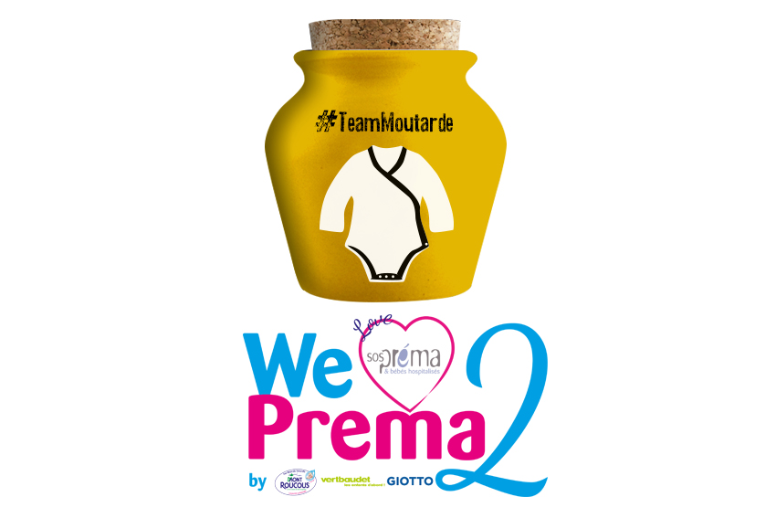 Illustration WE LOVE PREMA 2e édition#teamMoutarde